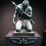 """""""Denkmal für die gefallenen Eisenbahner"""" (Ausstellung """"Enthüllt. Berlin und seine Denkmäler"""" in der Zitadelle Spandau)"""