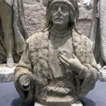 """Denkmäler der """"Siegesallee"""" (Ausstellung """"Enthüllt. Berlin und seine Denkmäler"""" in der Zitadelle Spandau)"""
