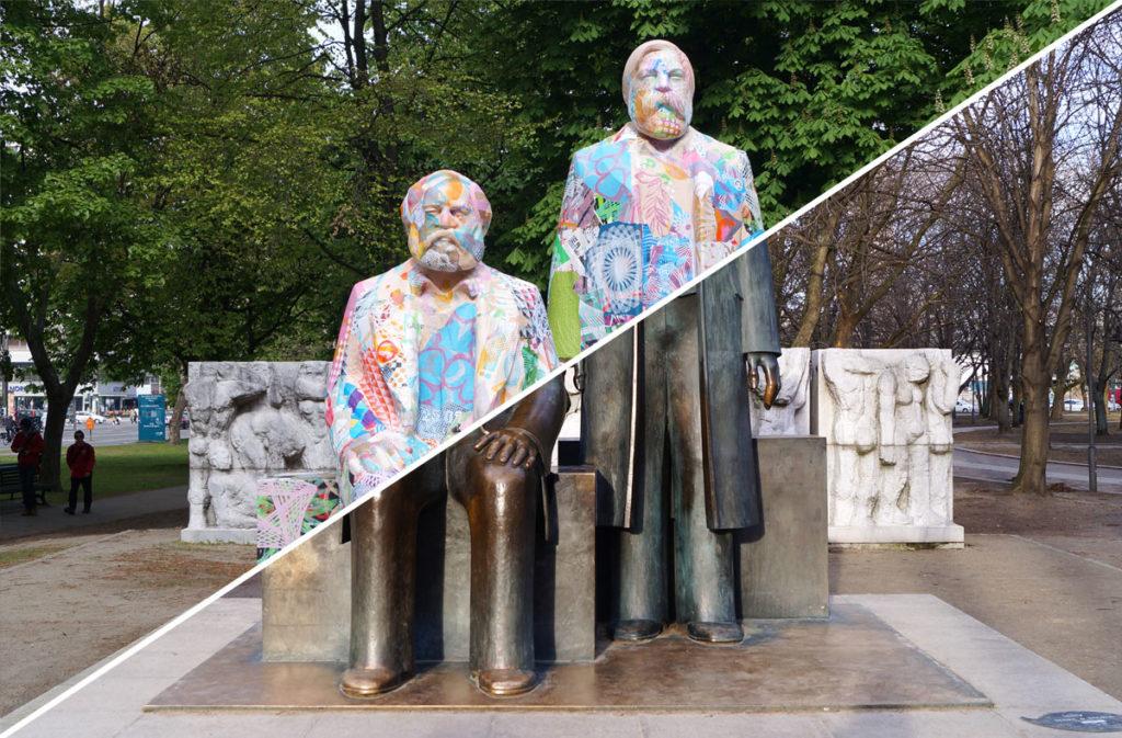 "Various & Gould: ""City Skins – Marx und Engels"""