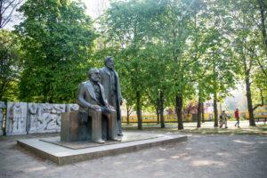 Ludwig Engelhardt: Marx und Engels, Berlin (Photo: Boris Niehaus)