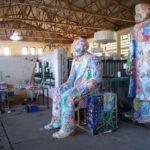 Various & Gould: City Skins – Marx und Engels, Arbeitsprozess in der Baumschule Köpenick, Berlin 2017