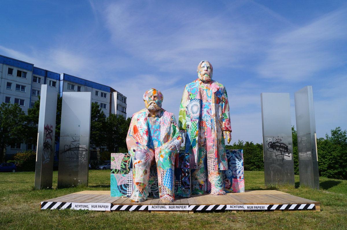 """Ausstellung in der """"station urbaner kulturen"""""""